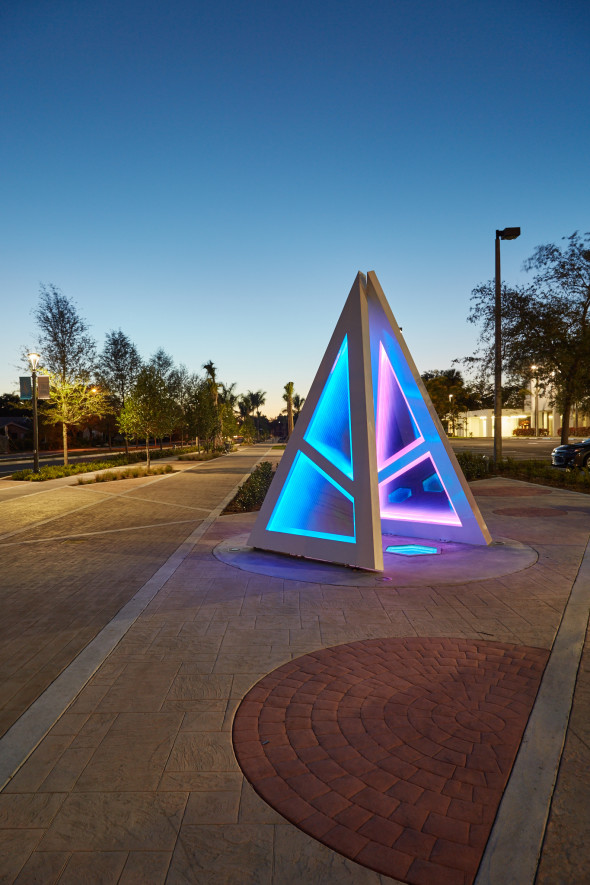 "Come check out our Sculpture ""Beyond"" in Coral Springs!"