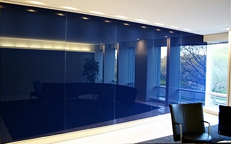 Home solutions creative ideas for home remodeling projects colored glass wall aloadofball Gallery