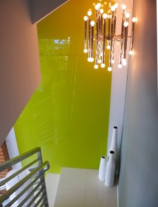 HGTV Colored Glass Wall 2